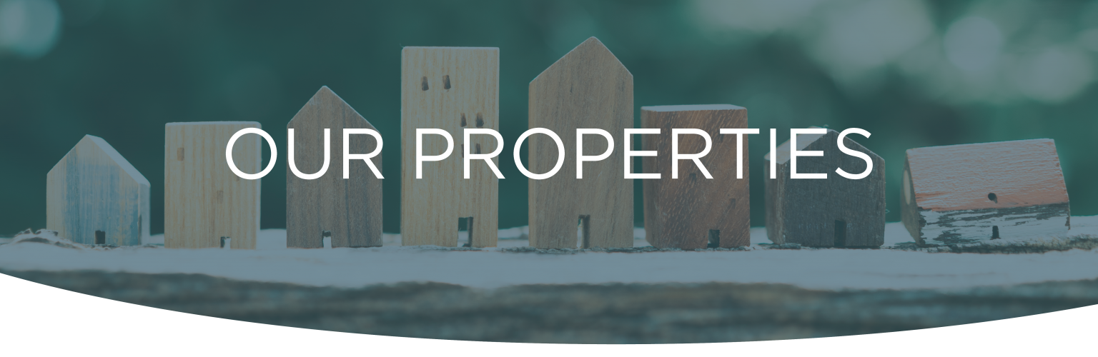 our properties header
